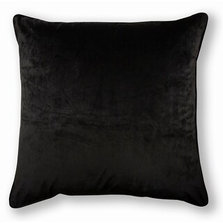 Link to Olivia Quido Black 24-inch Velvet Pillow Similar Items in Decorative Accessories