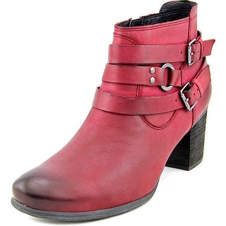 Josef Seibel Britney 02 Round Toe Leather Ankle Boot