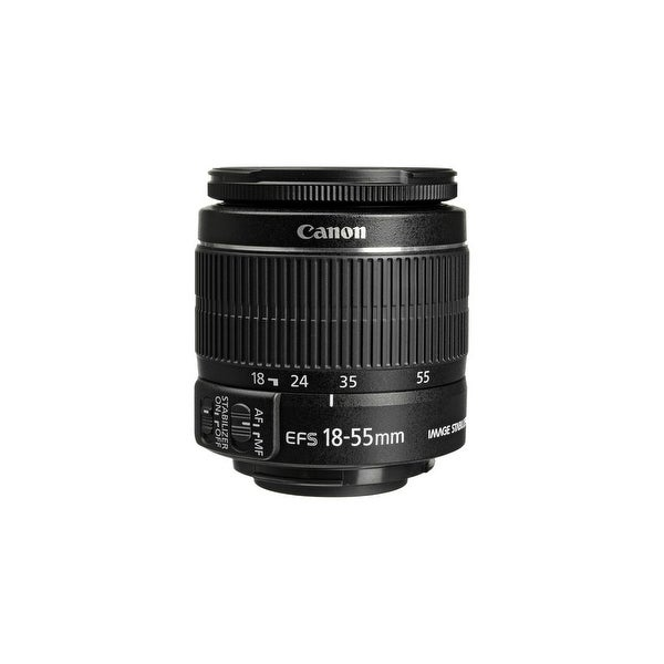 Canon EF Zoom lens LENS 18-55mm CANON F-3-5-5-6 IS