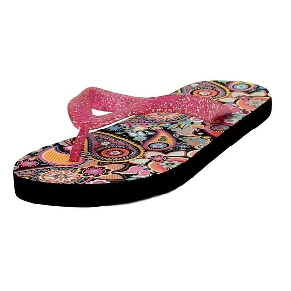 Blazin Roxx Western Shoes Womens Audrey Flip Flops Pink