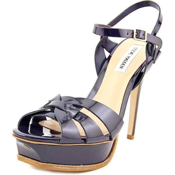 71b14320cd4b Shop Steve Madden Kananda Navy Sandals - Free Shipping On Orders ...
