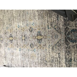 Safavieh Monaco Vintage Distressed Grey Multi Distressed
