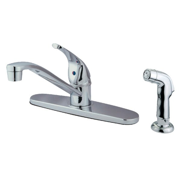 Kingston Brass KB5720SP 1.8 GPM Centerset Kitchen Faucet - Polished Chrome