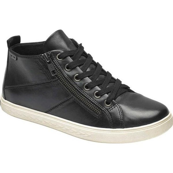 Cobb Hill Willa High Top Black Leather