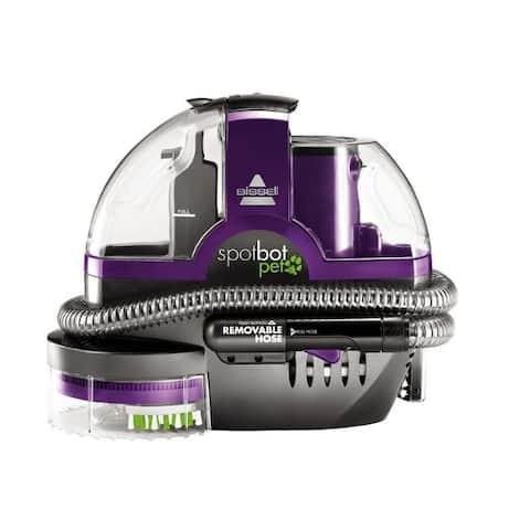 Bissell SpotBot Pet Bagless Carpet Cleaner 3 amps Standard Purple
