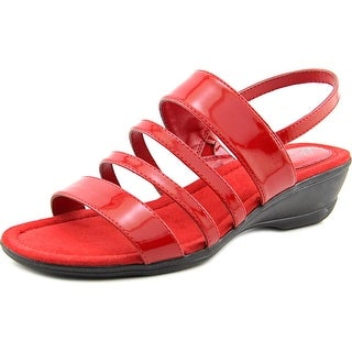 Life Stride Allie Women Open-Toe Synthetic Red Slingback Sandal