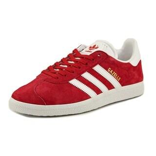Adidas Gazelle Round Toe Suede Walking Shoe