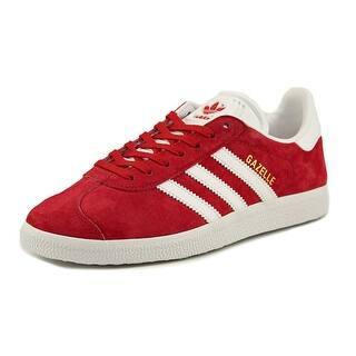 Adidas Gazelle Round Toe Suede Walking Shoe|https://ak1.ostkcdn.com/images/products/is/images/direct/0c58dd95fcf9338ec2b5f9d3084105069657ff3a/Adidas-Gazelle-Round-Toe-Suede-Walking-Shoe.jpg?impolicy=medium