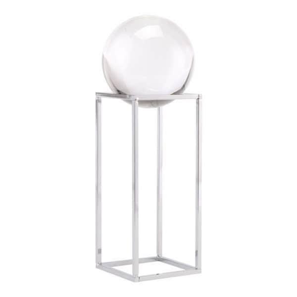 Small Silver Square Orb
