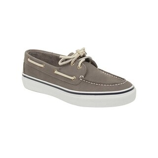 Sperry Mens Washable Bahama Boat Shoes in Grey