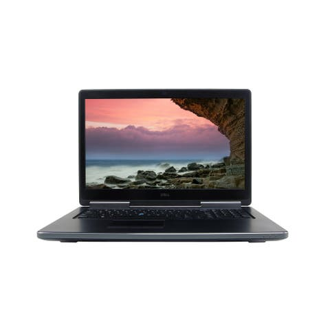 "Dell Precision 7710 Core i7-6820HQ 32GB RAM 512GB SSD 17.3"" Windows 10 Pro (Refurbished)"