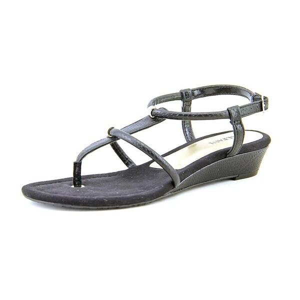 Alfani Castane Womens Black Sandals