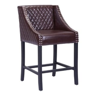 Zuo Modern 98606 Santa Ana Counter Stool - Brown
