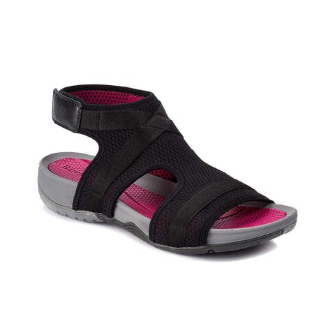 Bare Traps Womens Soozie Open Toe Casual