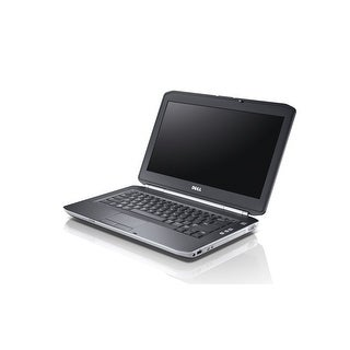"Dell Latitude E5420 14.0"" Standard Refurb Laptop - Intel i5 2520M 2nd Gen 2.5 GHz 4GB 2.5"" 250GB DVD-ROM Win 10 Pro - Wifi"