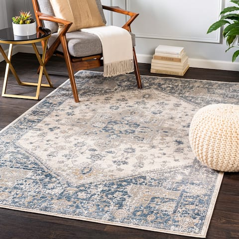 Layton Traditional Medallion Area Rug