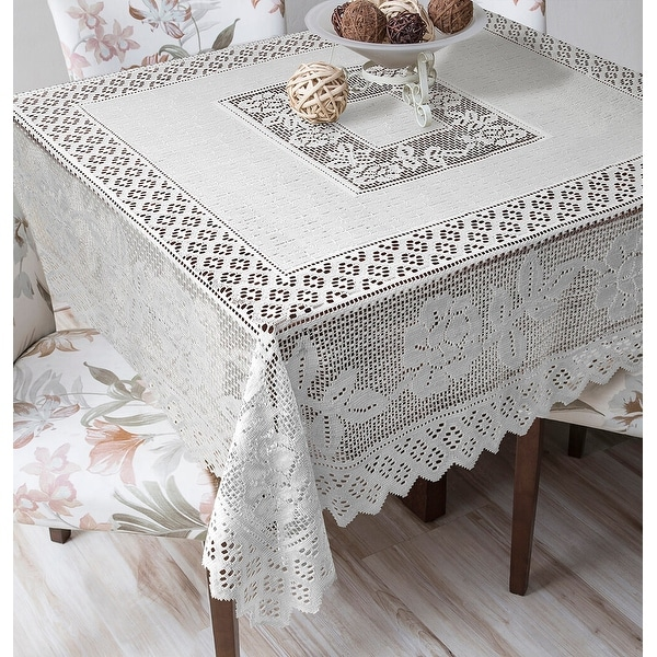 how to get wax off lace tablecloth