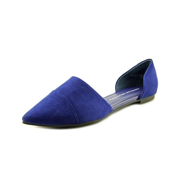 Chinese Laundry Easy Does It Womens Bright Navy Flats