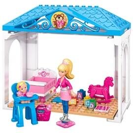 Mega Bloks Barbie - Babysitter Barbie Building Kit