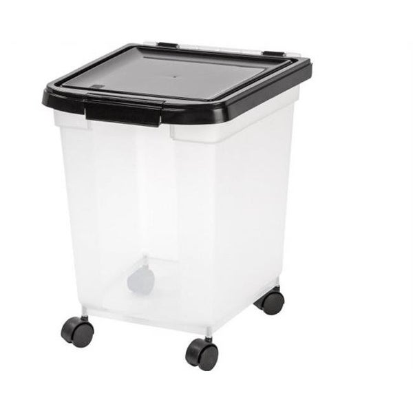 Airtight Pet Food Storage Container With Casters, 3.16