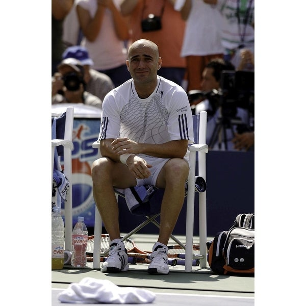c3364f857ef4 Shop Andre Agassi at the US Open Photo Print - Free Shipping On ...