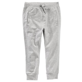OshKosh B'gosh Baby Boys' Heathered Fleece Joggers