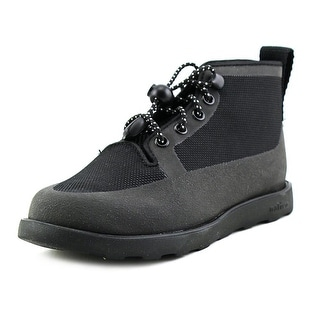 Native Fitzroy Child Youth Round Toe Synthetic Black Boot