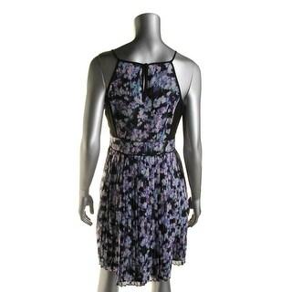 Jessica Simpson Womens Sleeveless A-Line Party Dress