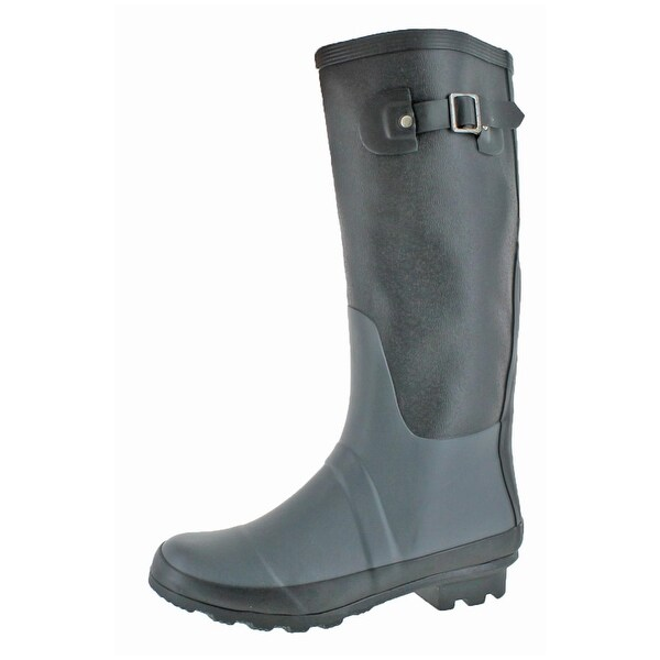 Henry Ferrera Womens Royal Mile Rain Boots Waterproof Knee-High