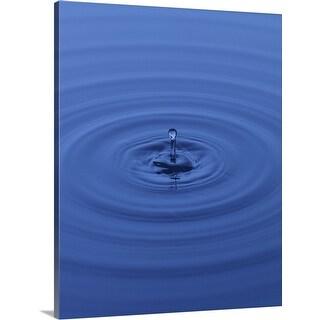 """water drops"" Canvas Wall Art"