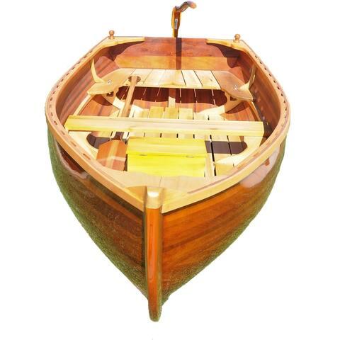 """Open Water Little Bear Wooden Dinghy - 118.5x51x27.75"""""""