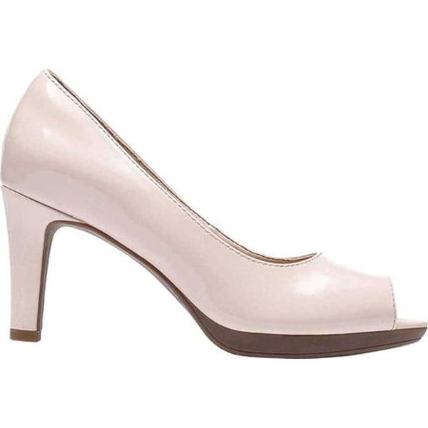96288a86364 Clarks Women's Adriel Phyliss Pump Dusty Pink Patent