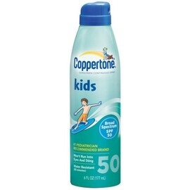 Coppertone Kids Continuous Spray Sunscreen SPF 50 6 oz