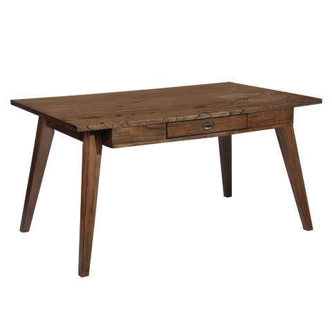 Furniture R Traditional Dining Table with Drawer