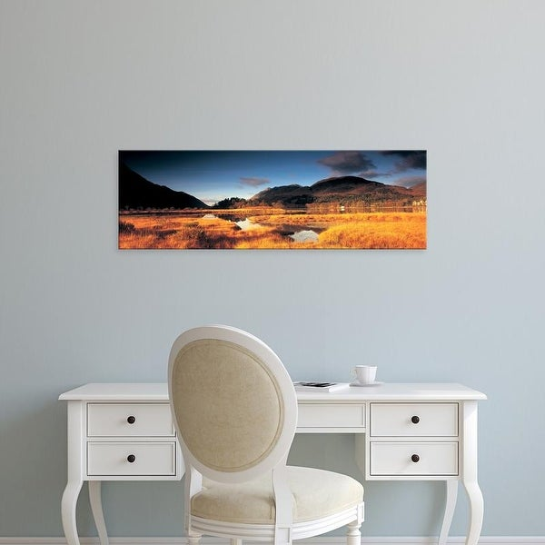 Easy Art Prints Panoramic Images's 'Loch Shiel, Scotland, United Kingdom' Premium Canvas Art