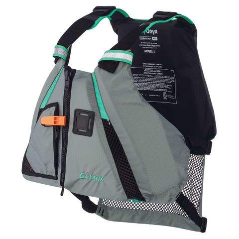 Onyx MoveVent Dynamic Paddle Sports Life Vest - XS/SM - Aqua MoveVent Dynamic Paddle Sports Life Vest - XS/SM - Aqua