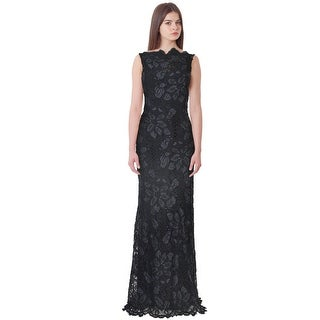 Anna Maier Couture Embroidered Lace Evening Gown Dress - 12