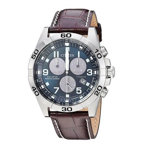 Citizen BL5551-06L Super Titanium Men's Eco-Drive 43mm Casual Watch