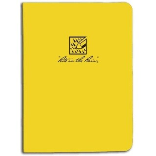 Rite in the Rain RR 210 Field Ring Plastic Binder - Yellow