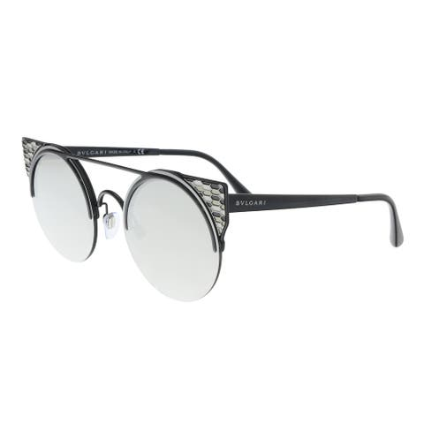 Bulgari BV6088 239/6G black Cat eye Sunglasses - 54-20-150