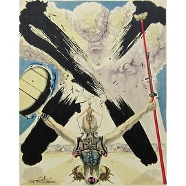 The Fight Against Danger, 1957 Limited Edition, Lithograph, Salvador Dali