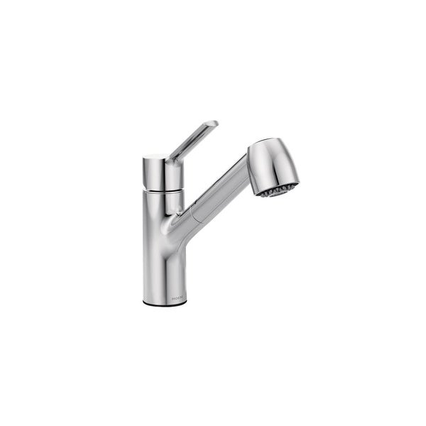 Moen 7585 Method Single Handle Pullout Spray Kitchen Faucet with Duralock� Technology