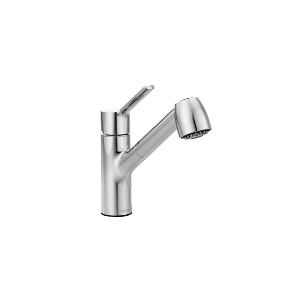 Moen 7585 Method Single Handle Pullout Spray Kitchen Faucet with Duralock� Technology - n/a