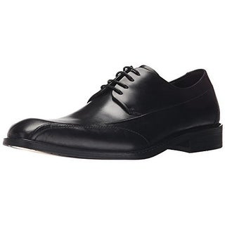 Kenneth Cole New York Mens Be Leave Leather Formal Oxfords - 9 medium (d)