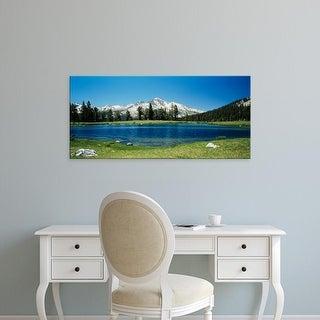 Easy Art Prints Panoramic Images's 'Sierra Nevada Mountains Yosemite National Park CA' Premium Canvas Art