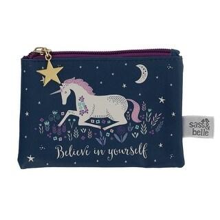 Sass & Belle Starlight Unicorn Coin Purse Wallet