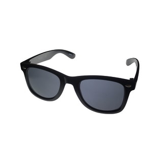 Kenneth Cole Reaction Mens Sunglass Black Square, Smoke Gradient Len KC1135 2A - Medium