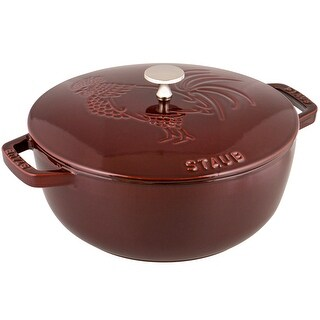Staub Cast Iron 3.75-qt Essential French Rooster - Visual Imperfections