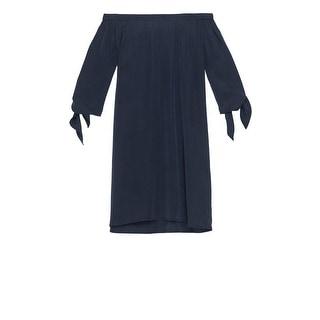 Bobeau Lyocell Off The Shoulder Dress