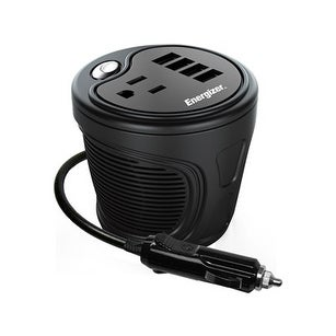 Energizer Cup Inverter for Vehicle (12 Volts/180 Watts)